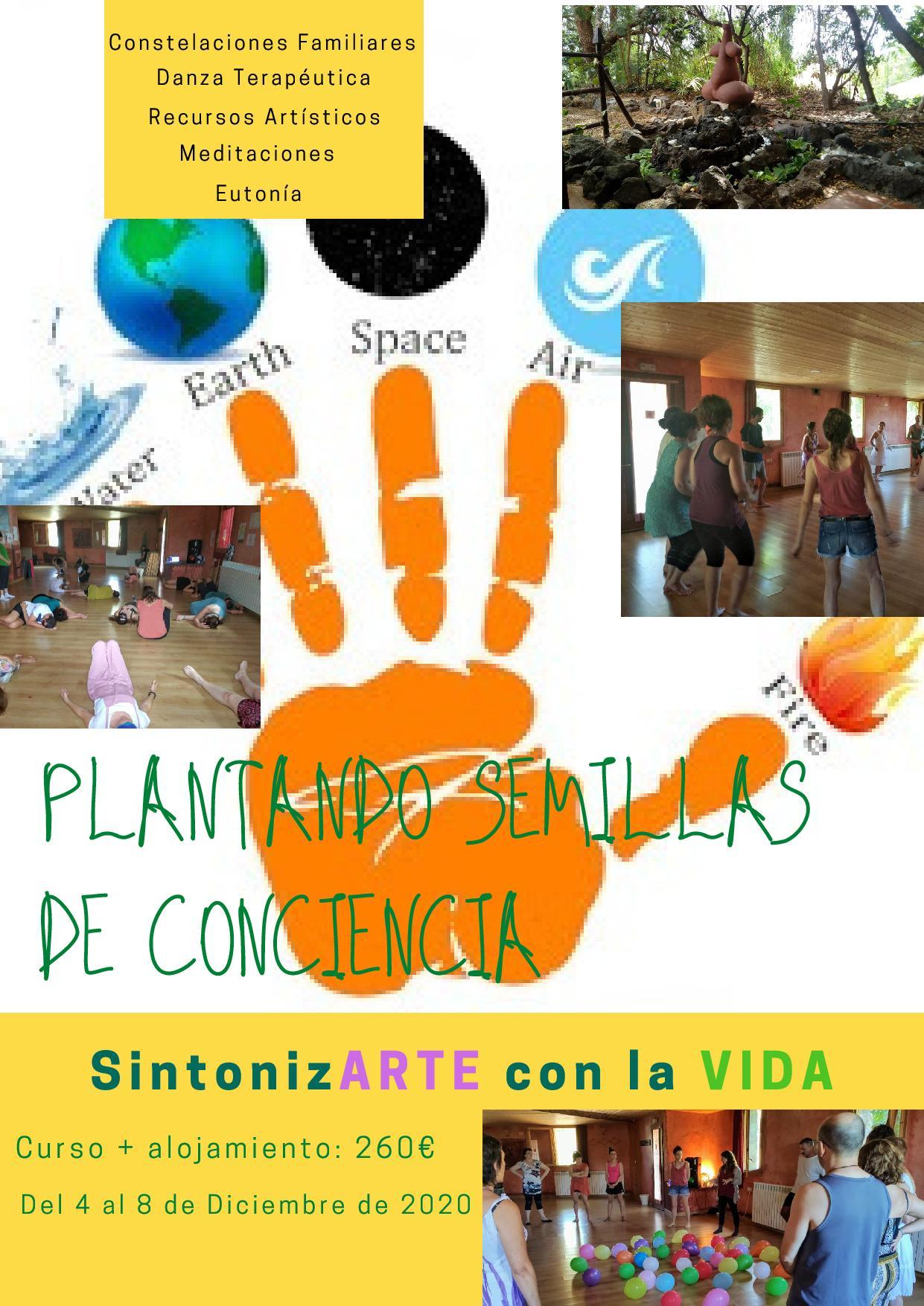 """Plantando Semillas de Conciencia - """"SintonizARTE con la VIDA"""""""