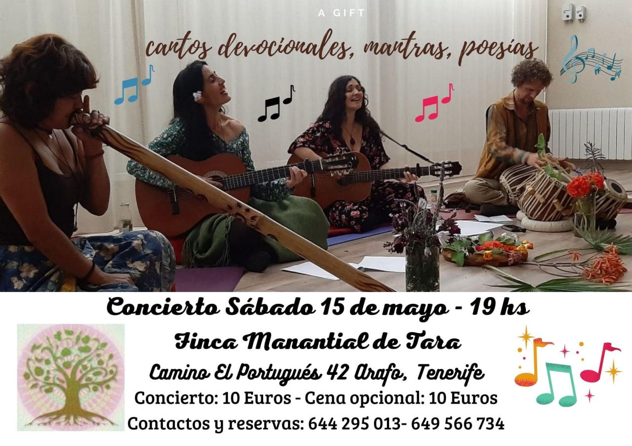 ESPACIO Recital : Cantos devocionales, mantras , poesías ..