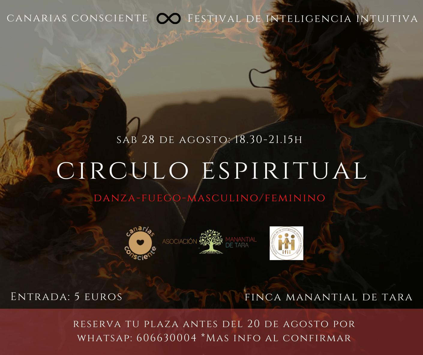 Círculo Espiritual + cena vegetariana (opcional)